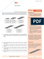 Álgebra e Funções - SD1 - Generalização e Representação Algébrica ALUNO