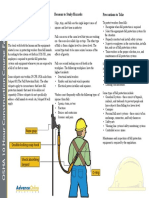 OSHA 10 Fact Sheet - Fall Protection