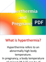Hyperthermia and Pregnancy