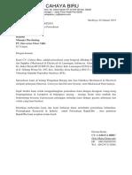 001 - Surat Pengenalan PT. Harvestar