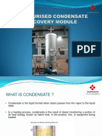 Pcrm-Condensate Recovery Systems