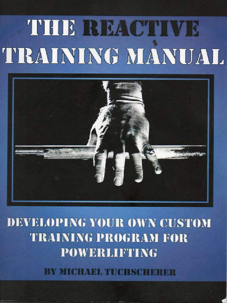 354150813-170105634-Tuscherer-Reactive-Training-Manual pdf