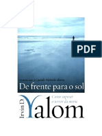 De Frente Para o Sol Como Superar o Terror Da Morte Irvin D. Yalom