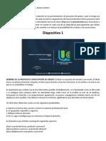 Instructivo Para Presentacion de Diapositivas de Proyectos Ante El Cipis