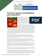 Hormonas Vegetales y Biorreguladores Para La Agricultura. _ El-Valor-Agrocultura