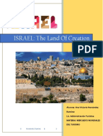 Israel the Land of Creation
