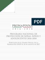 Programa Nacional Protec Niñas Niños Adolescentes