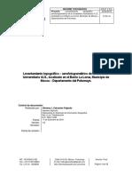 Informe Topografía Ciudadela Universitaria v.I