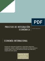 INTEGRACION ECONOMICA Y TEORÍAS