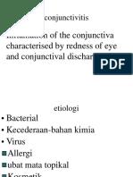 6. Conjunctivitis