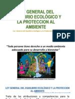Ley General Del Equilibrio Ecológico y La Protección