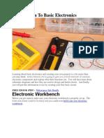 Introduction To Basic Electronics.docx
