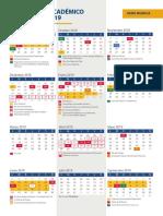 calendario UCAM