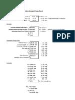 End Plate Connection Design Per AISC
