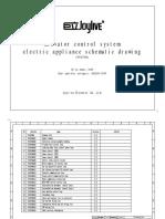 Pe18706a 单相220v客、货梯电气原理图(英文)