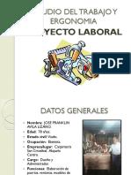 1. Estudio Del Trabajo y Ergonomia Exposicion