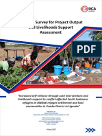 Baseline Survey Livelihood Support June2017 DCA UNHCR Final Report ADA Kwesioner