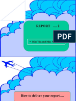How to Deliver a Report
