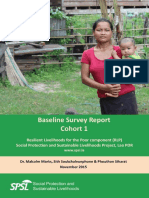 Baseline Survey Report Cohort 1-09-10 15 LAO173