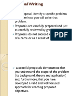 2 Proposal Writing