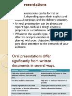 3 Oral Presentations