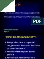 2.7.1 C - Peranan Dan Tanggungjawab PPP