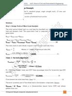 Example-Preliminary Track Design