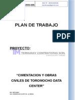 Plan de Trabajo Data Center Final