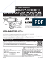 GY-HC900CHU CONNECTED CAM™ 2/3-INCH BROADCAST CAMCORDER (LESS LENS)