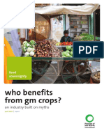 Who benefits from GM crops