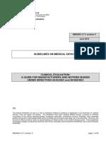 MEDDEV-2-7-1-REV04:2016 GUIDELINE FOR AUTHORISED REPRESENTATIVES