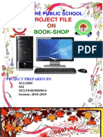 Book-shop Cbse Class Xii Computer Science Project File