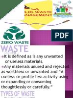 11 Solid Waste Management Pp t