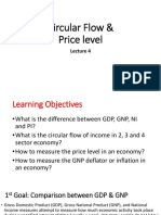 Circular Flow and Price Level(Lect-4)