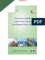 Himachal Pradesh Sustainable Tourism Devlopment Policy, 2013