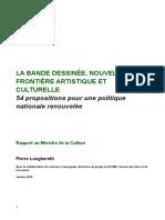 Rapport Bande dessinée-Pierre Lungheretti