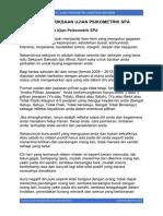 Contoh Soalan Ujian Psikometrik SPA Jawatan Kerajaan Dengan Jawapan.pdf