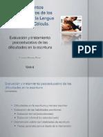 Tema 8_Evaluación y Tratamiento Psicoeducativo de Las Dificultades en La Escritura(1)
