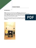 Marketing Plan of Dalda(1)