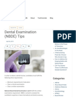 NBDE Tips