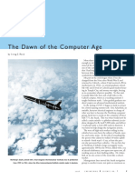 The Dawn of the Computer Age