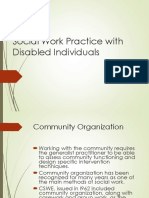 Social Work Practice With Disabled Draft