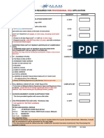 Checklist for Visa Application-post Sea (31!5!2018)
