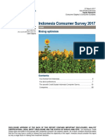 Indonesia Consumer Survey 2017