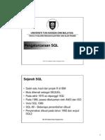 Bahasa SQL Mudah