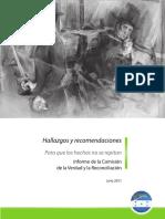 Honduras - Informe CVR - RECOMENDACIONES.pdf