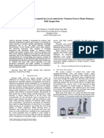 Fuzzy PID control in Level control for Nuclear Power Plant Primary  Bolt Inspection