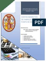 COSTOS INDIRECTOS (CAPARO)
