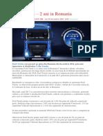 Ford Trucks – 2 Ani in Romania
