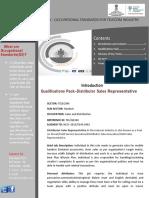 Distributor Sales Representative